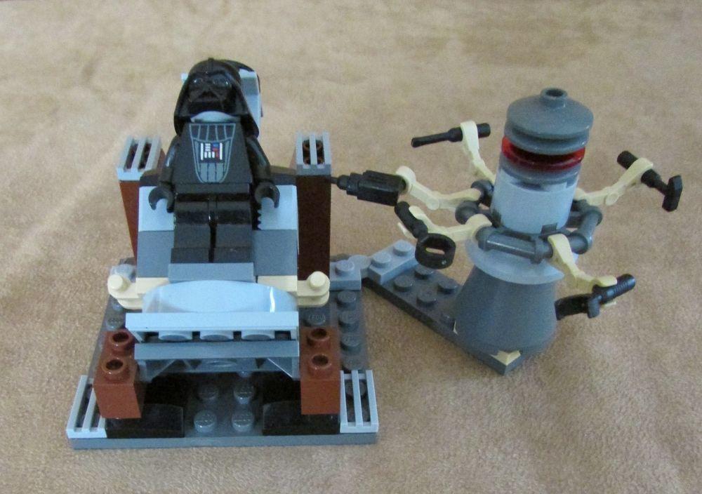 7251 Lego Star Wars Episode Iii Darth Vader Transformation Complete