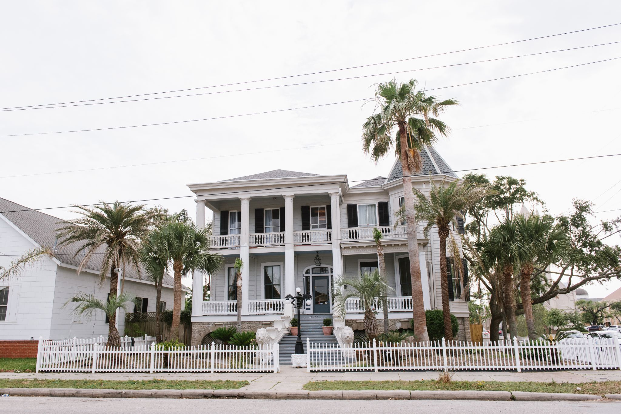 Galveston's Carr Mansion has a new life as a bedand