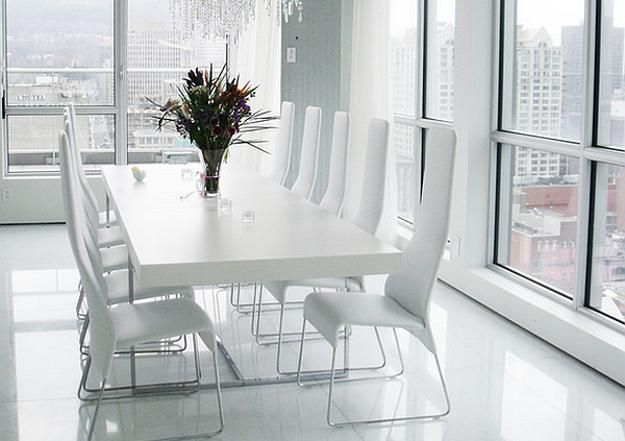 22 Modern Dining Room Decorating Ideas With Contemporary Vibe Minimalist Dining Room Apartment Living Room Design Interior Design Dining Room