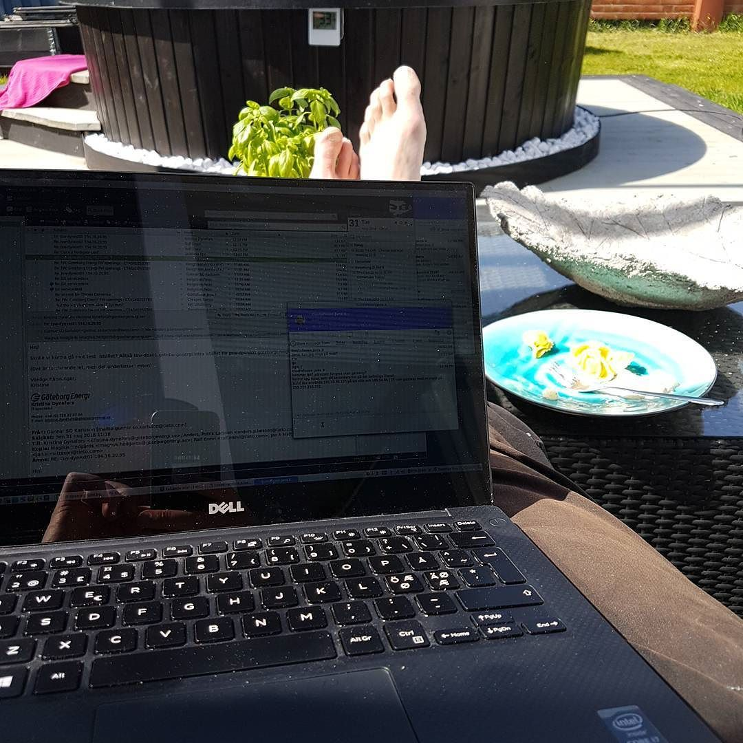 ubuntu home office. Ubuntu Home Office. Homeoffice #icaniwill #voltvägen #dellxps13 #linux # Office F