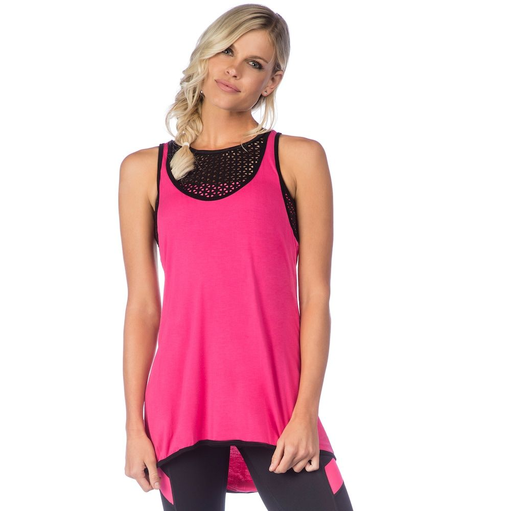 Women S Pl Movement By Pink Lotus Active Racerback Yoga Tank Women Pink Lotus Yoga Tank