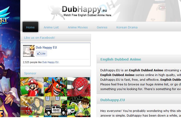 0http//www.dubhappy.eu/animemovies/ English Dubbed