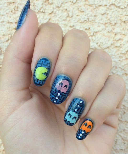 Midnight Stamper: 26 Great Nail Art Ideas: Black Base | Bundle ...