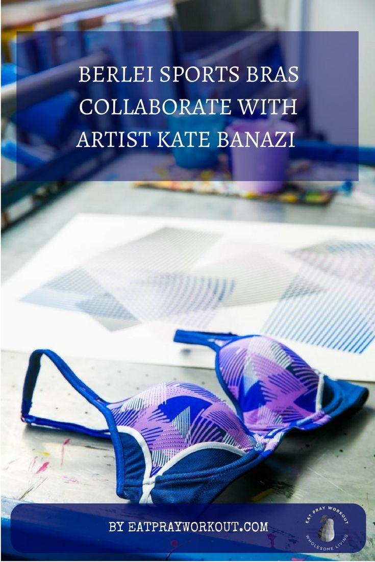 Berlei sports bras collaborate with Artist Kate Banazi