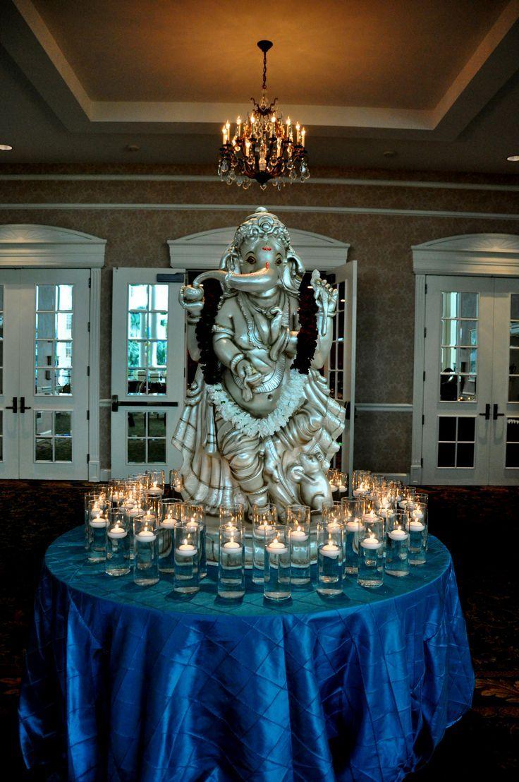 Hindu wedding decoration ideas  Pin by Zda Bouti on Decoration ideas  Pinterest  Ganesh Wedding