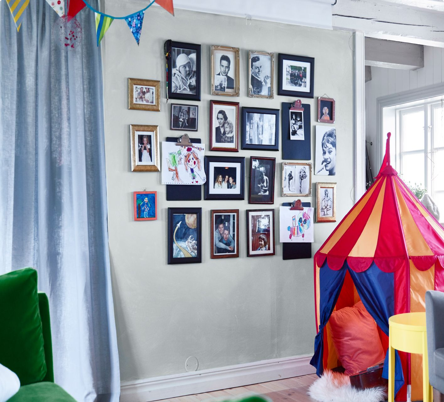 Click through to discover how IKEA interior designer Sigrid created ...