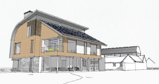 Passivhaus design  Marsh Flatts Farm Passivhaus - Design concepts | Marsh Flatts Farm ...
