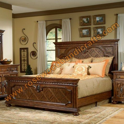 Latest Wooden Bed Designs 2016 Simple Pakistani Bed ...