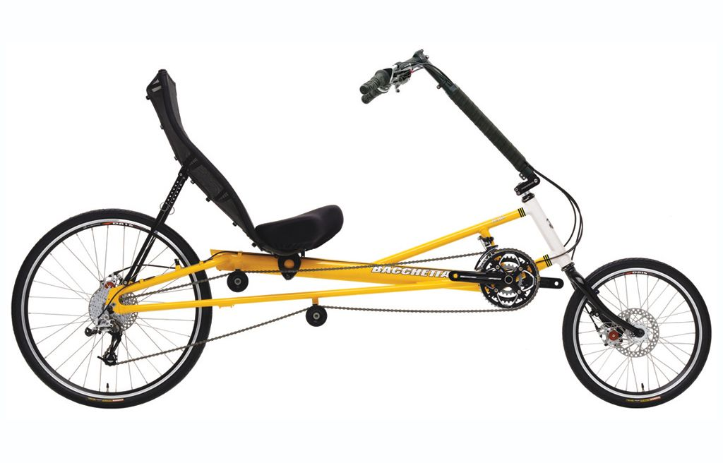Bella Touring Recumbent Bike Bacchetta Bikes Recumbent Bicycle Bicycle Exercise Bikes