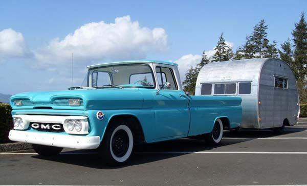 1960 Gmc Lwb Fleet Classic Trucks Vintage Pickup Trucks Pickup