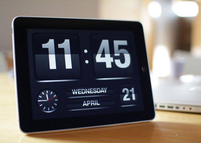 FlipTime iPad App App, Ipad, Alarm app