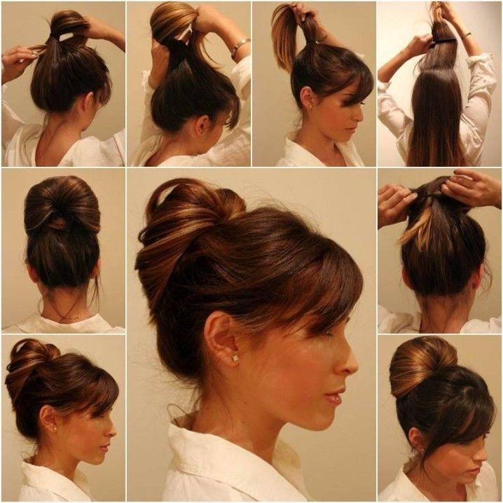 Schnelle Hochsteckfrisuren - 12 Ideen zum Selber Machen - Frisurentrends - ZENIDEEN
