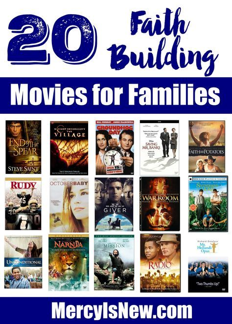 20 Faith Building Movies for Families | Christian Movies in 2019