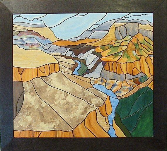 Southwest, Grand Canyon, Wall Decor, Wood Wall Art | Grand canyon ...