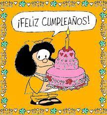 Fan Mafalda (avec images) | Anniversaire, Carte anniversaire ...