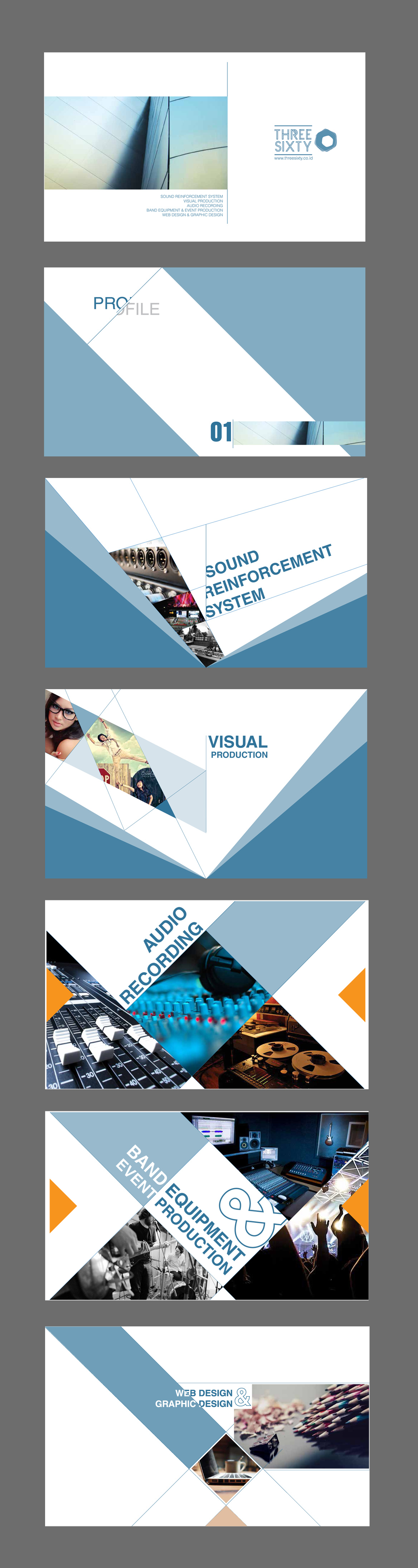 threesixty company profile template | Presentation | Pinterest ...