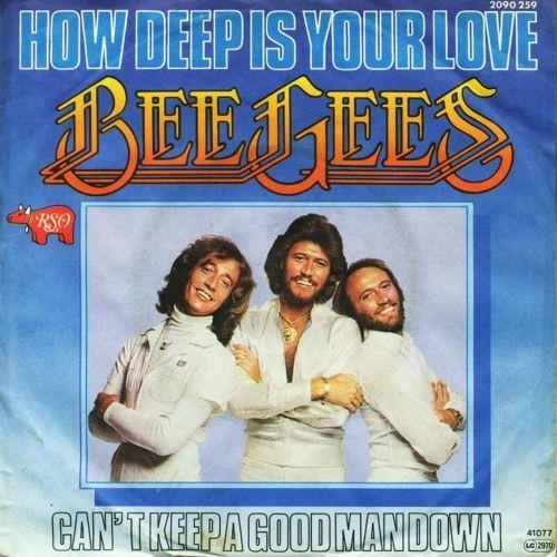 The Bee Gees - How Deep Is Your Love(1977) 歌詞 lyrics《經典老歌線上聽》