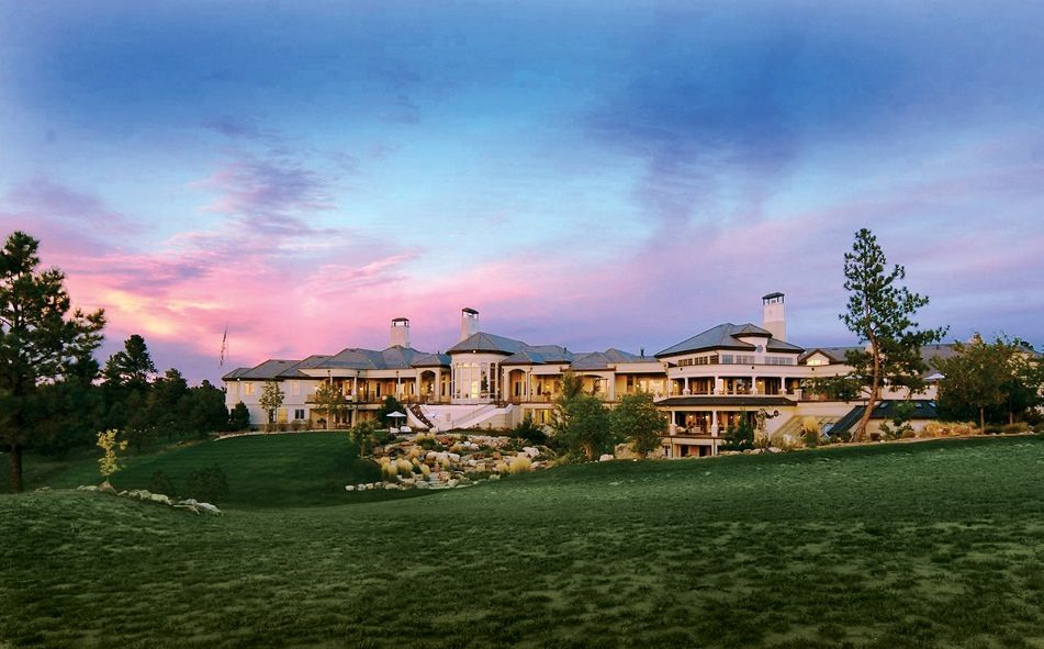 Biggest House In America Evans Ridge Colorado Went Here Today Houses In America Mansions Beautiful Homes