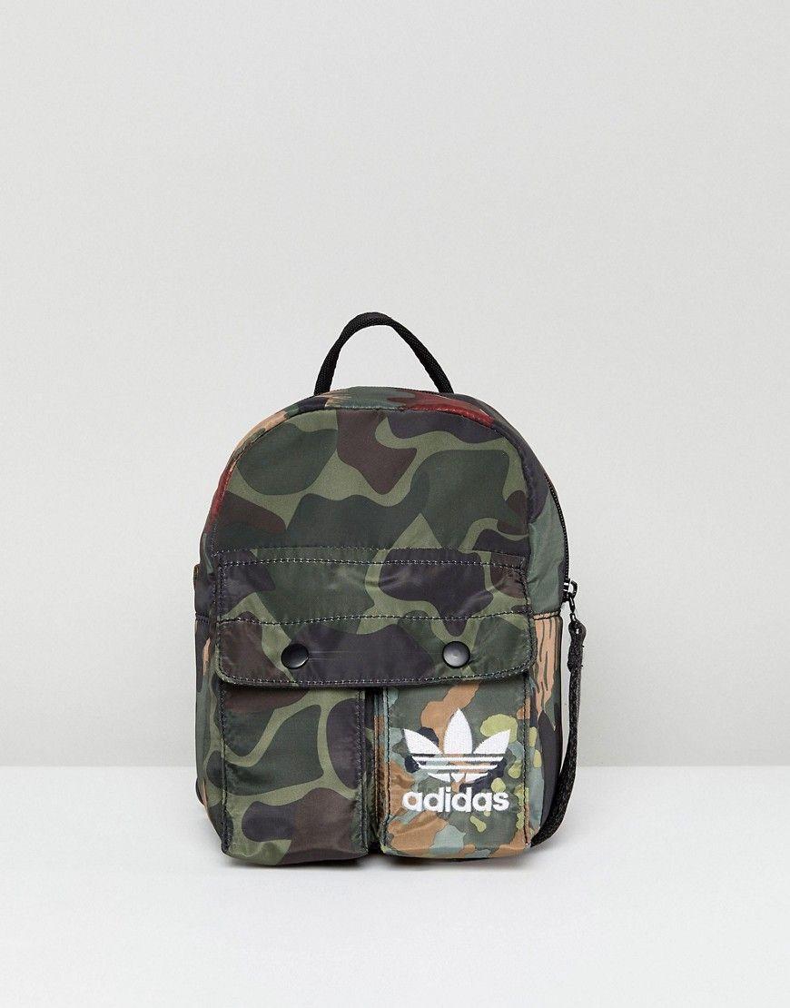 quality design 8ede6 a3e89 ADIDAS ORIGINALS ADIDAS ORIGINALS X PHARRELL WILLIAMS HU CAMO MINI BACKPACK  - MULTI.  adidasoriginals  bags