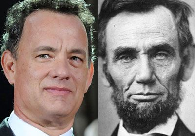 Image result for abe lincoln, tom hanks