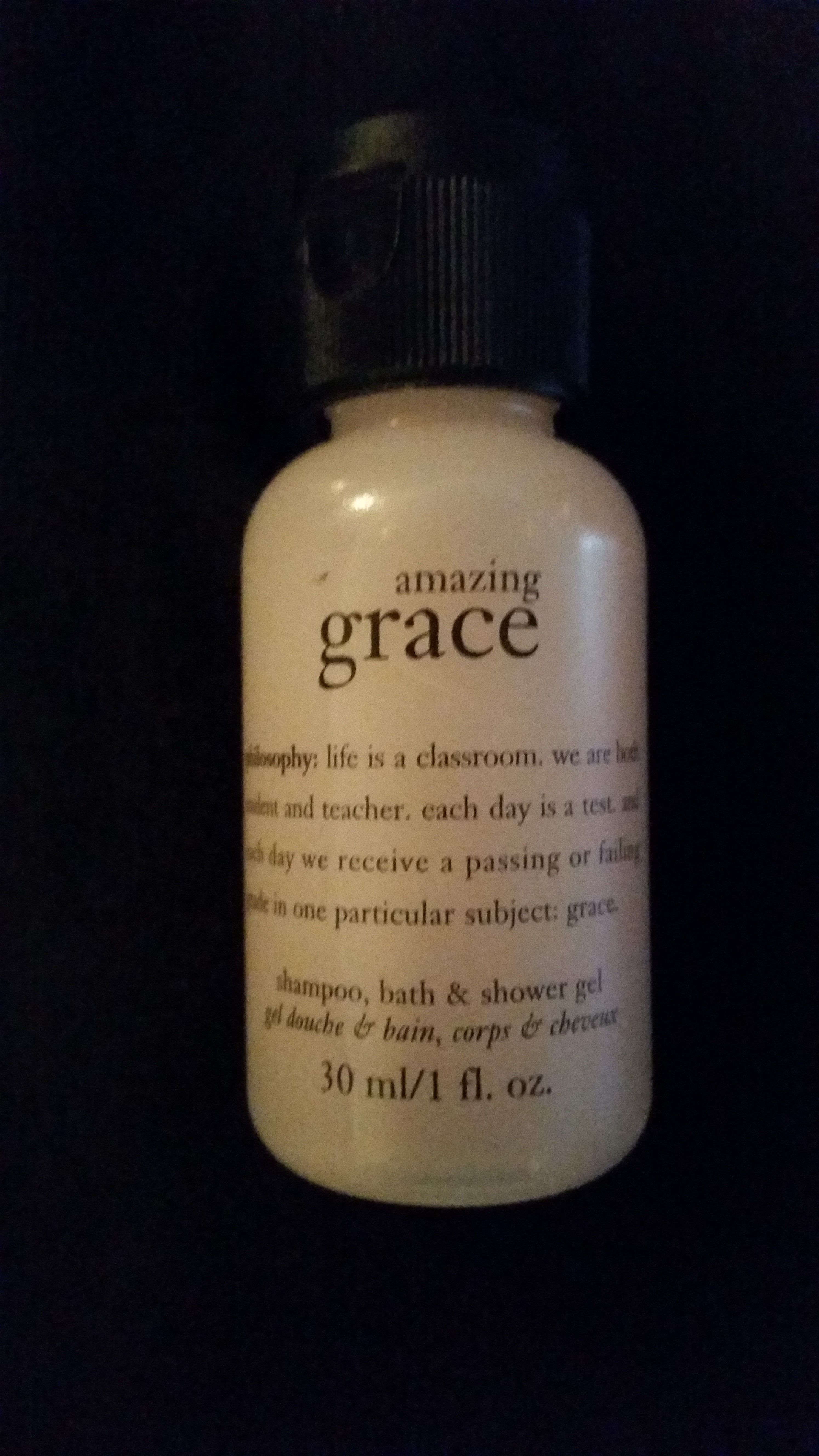 """I got this free from Smiley360 and love the quote.  It says """"life is a classroom. we are both student and teacher. each day is a test and each day we receive a passing or failing grade in one particular subject: grace."""""""