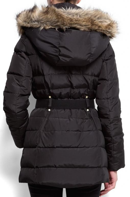 Brazowa Puchowa Kurtka Plaszcz Mango 36 Futro 5767518352 Oficjalne Archiwum Allegro Winter Jackets Jackets Fashion
