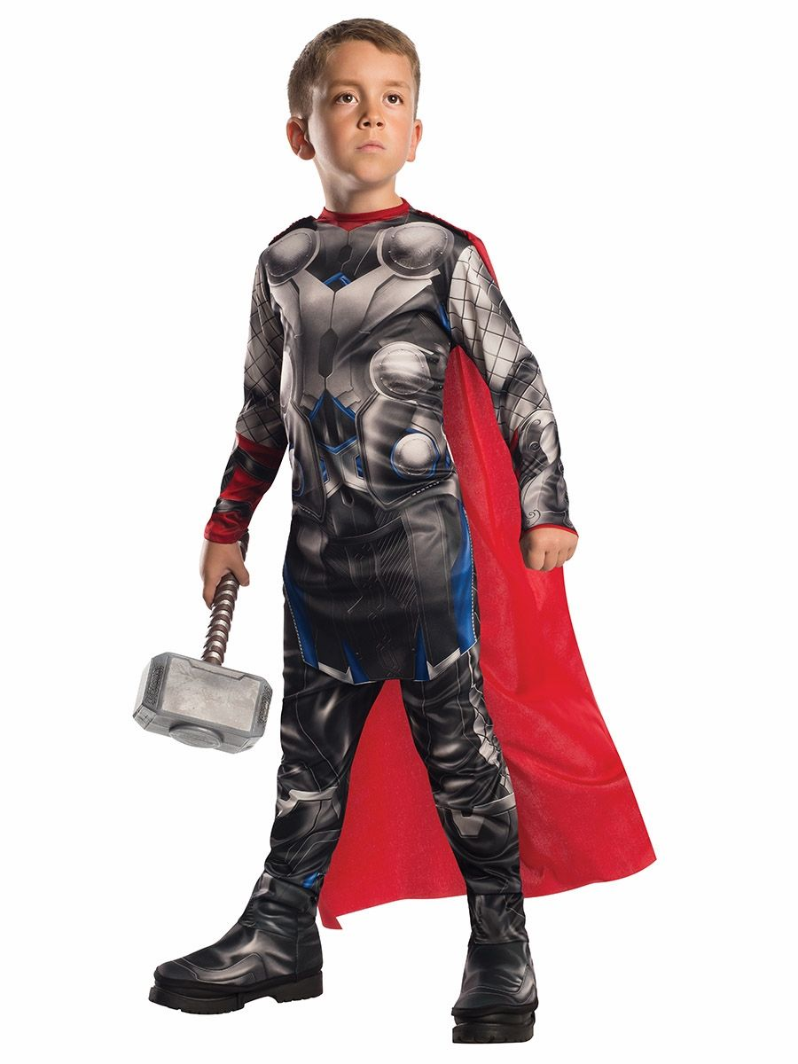 Ultron Villain Marvel Avengers 2 Age Ultron Fancy Dress Halloween Child Costume