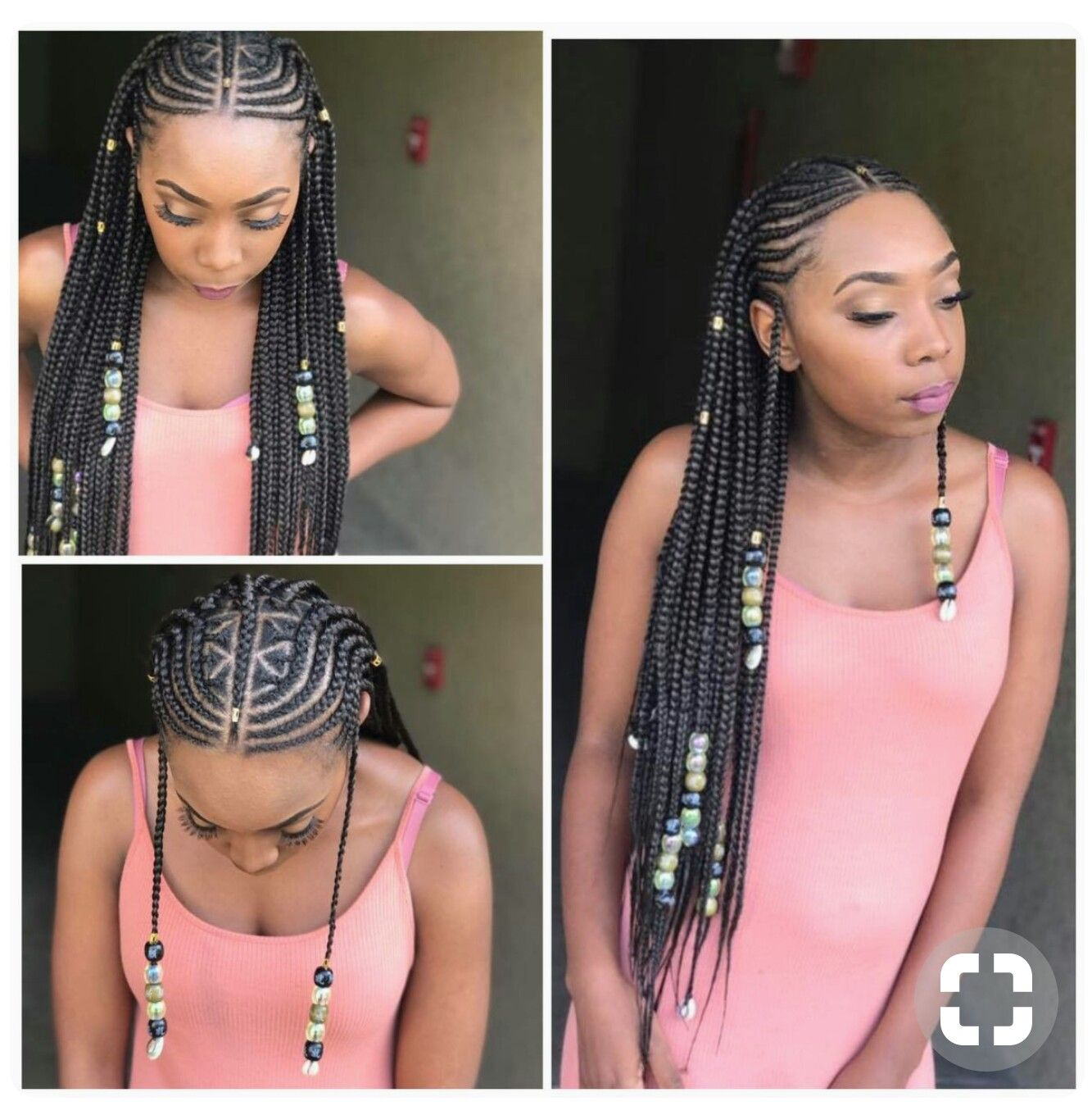 Coiffure Africaine Braid Like What You See Follow Me For More Yofav N Hairrr