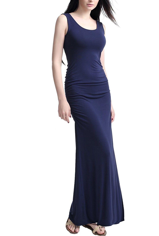 Women S Tank Column Maxi Dress Navy Cj17ycsaxao Maxi Dress Maxi Dress Navy Dresses [ 1500 x 1007 Pixel ]