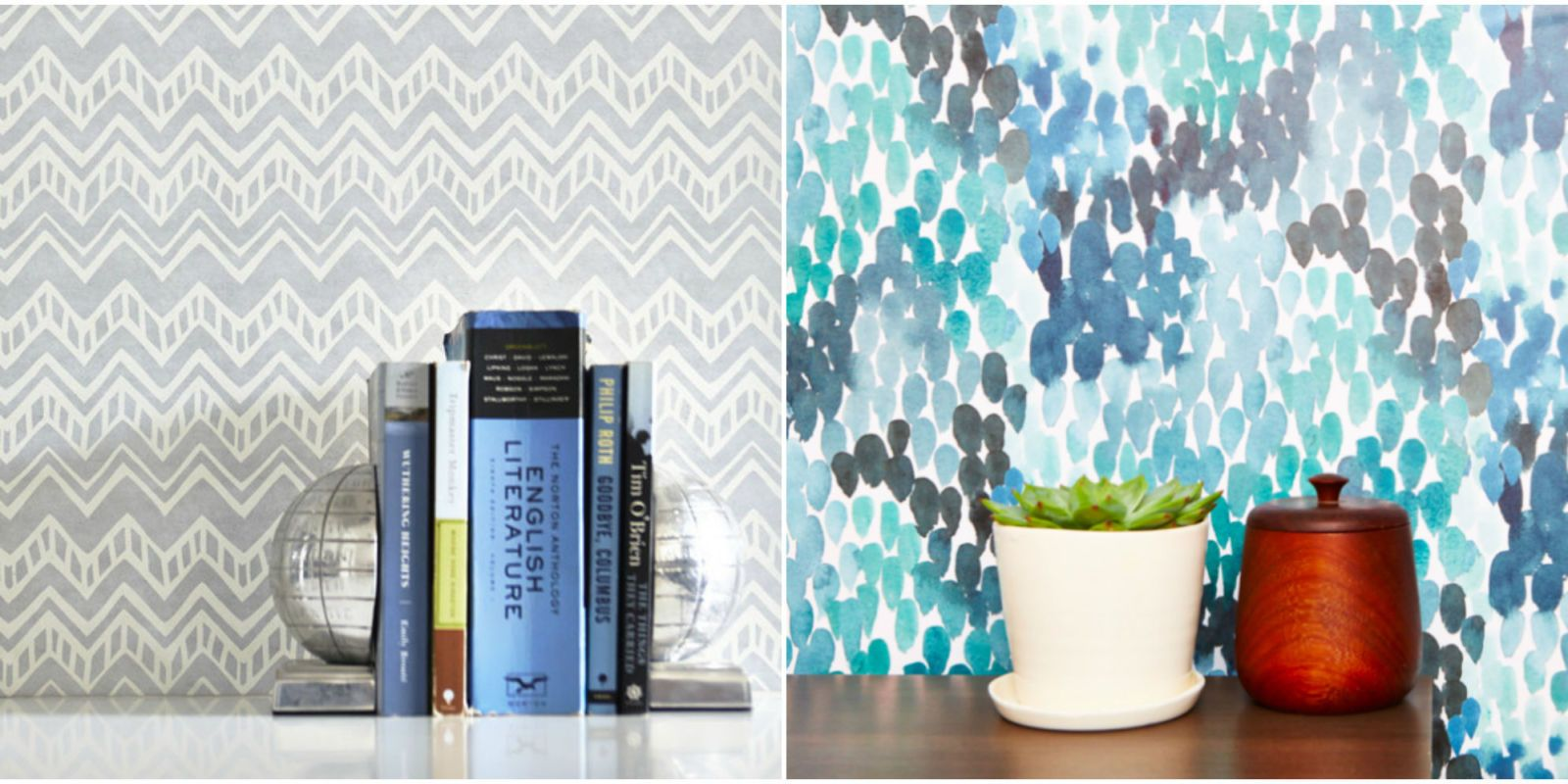 35 Removable Wallpapers That Look Like The Real Thing But Cost Half As Much Temporary Wallpaper Best Removable Wallpaper Removable Wallpaper