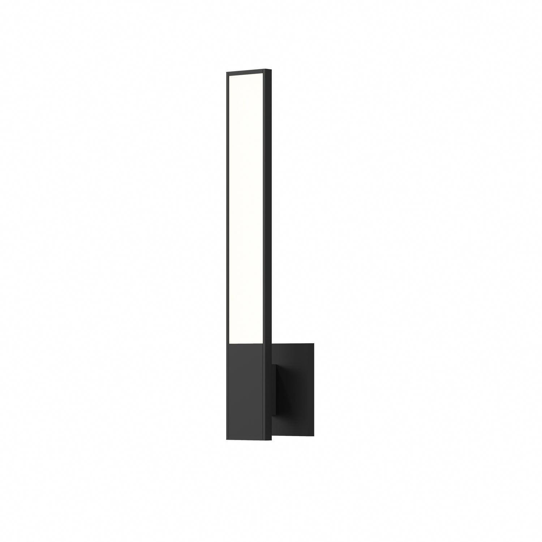 Sonneman Planes Satin Black LED 2.5 Inch Wall Sconce 2680.25 #ledtechnology