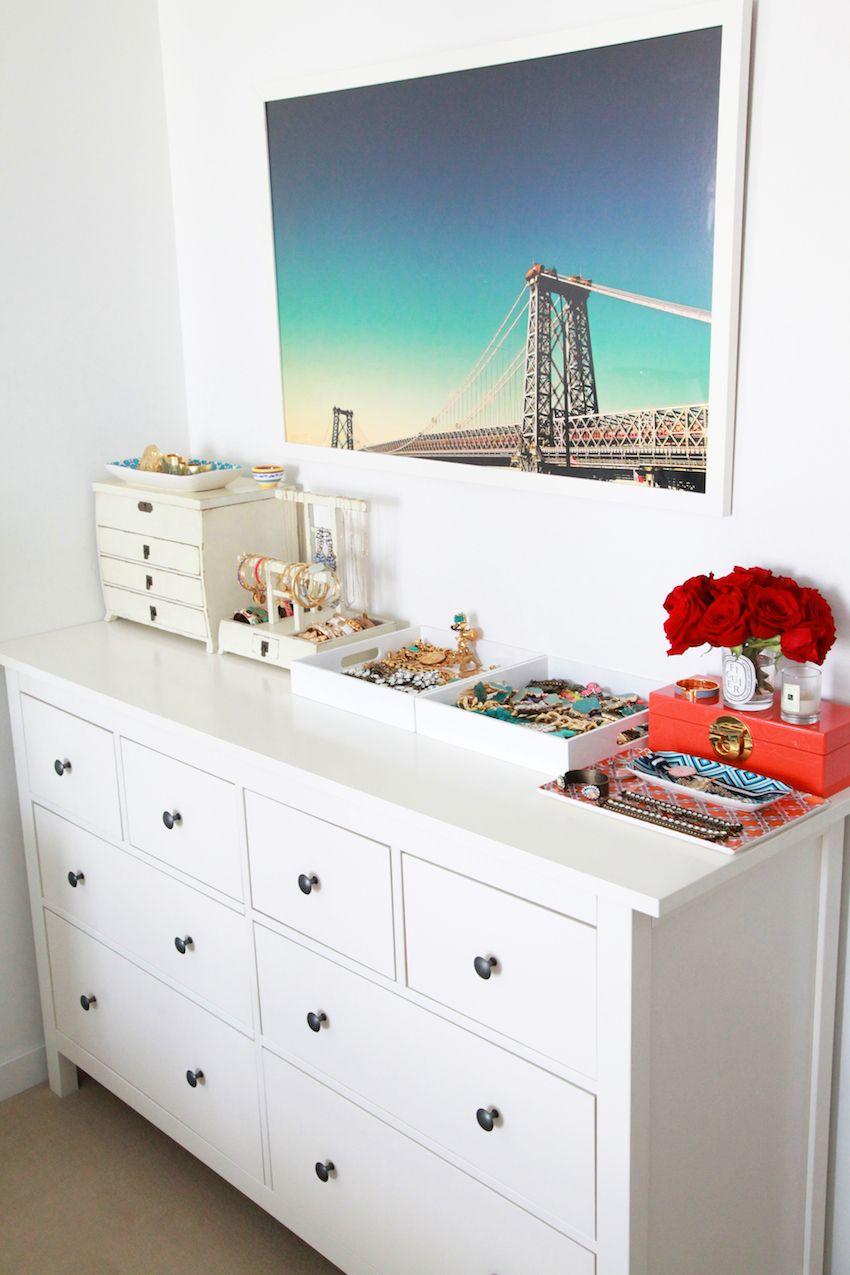 Jewelry Display Apartment Makeover Jewelry Dresser Bedroom Dressers