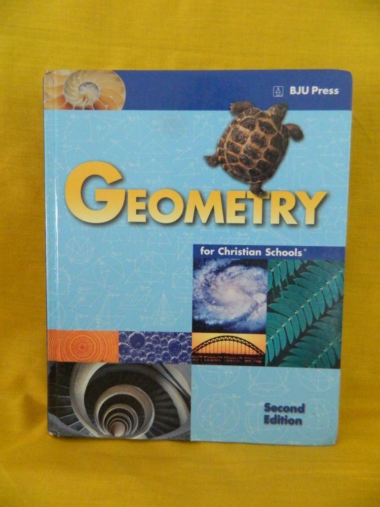 Bob jones geometry student hb & teacher, 2nd 3rd ed. Bju math.