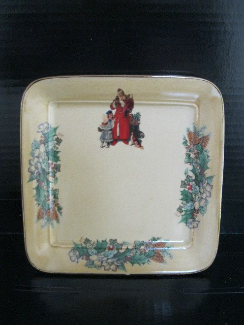 Vintage Robert Gordon Australia Christmas Plate By Buzzalon Christmas Plates Vintage Plates