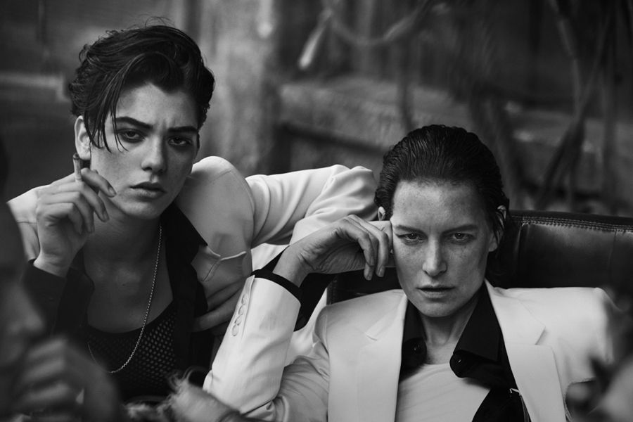 The female 'Gang of New York' – Peter Lindbergh for Vogue Italia, May 2015 /sornmagazine.com