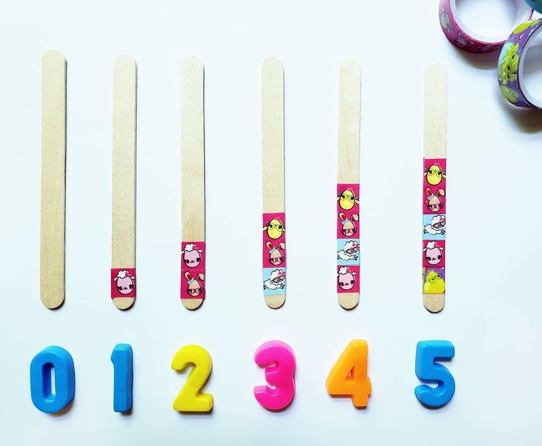 Sequencia Numerica Counting Sticks O Objetivo E Parear O