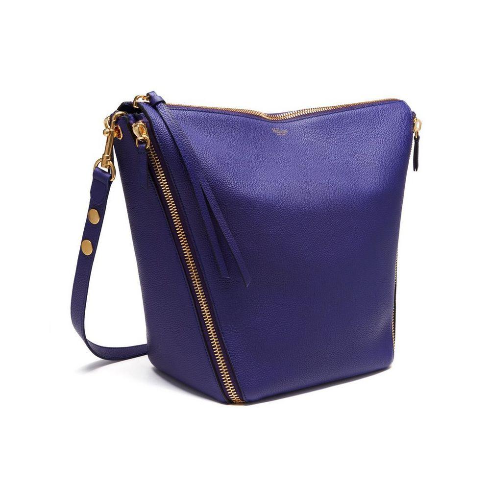12ef372a81 Shop the Camden bag in Indigo Small Classic Grain leather