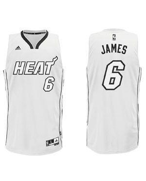 huge discount 2fda5 86efa LeBron James - Epic White Hot Jersey   Sports   Miami heat ...