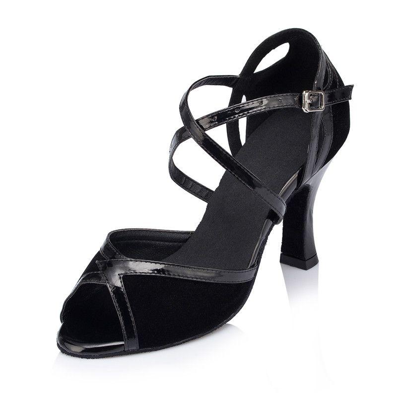8bc69eb43 Promotion price  26.95) Brand Dance Latin Shoes Women Adult Ladies ...