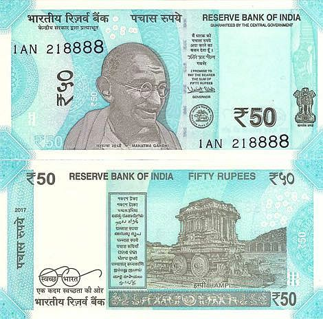 NEW DESIGN INDIA BANKNOTE 2019 ISSUE GEM UNC Rs 100//