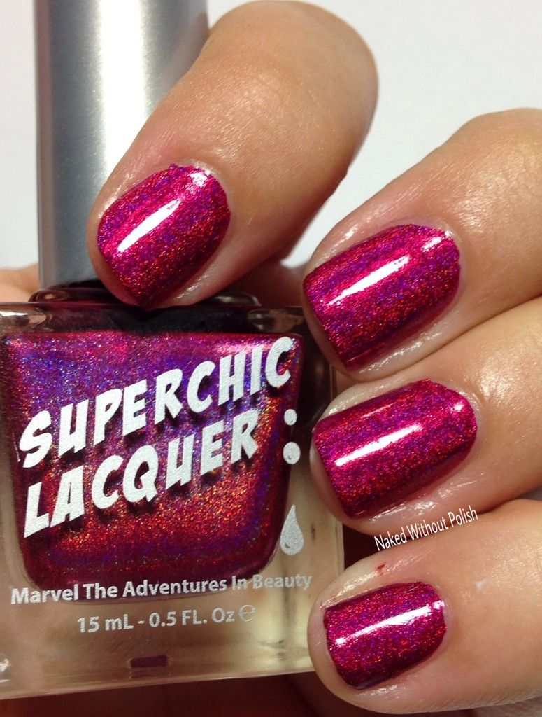 Superchic Lacquer Trap Queen In Direct Light