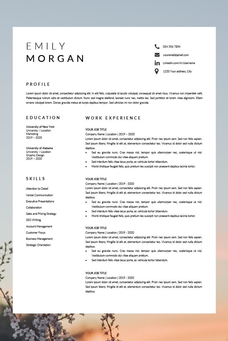 Professional Resume Design Cv Template Word Cv Resume Template Simple Format Of Cv Job Resume Template Simple Resume Format Resume Design Professional Job Resume Template Resume Design