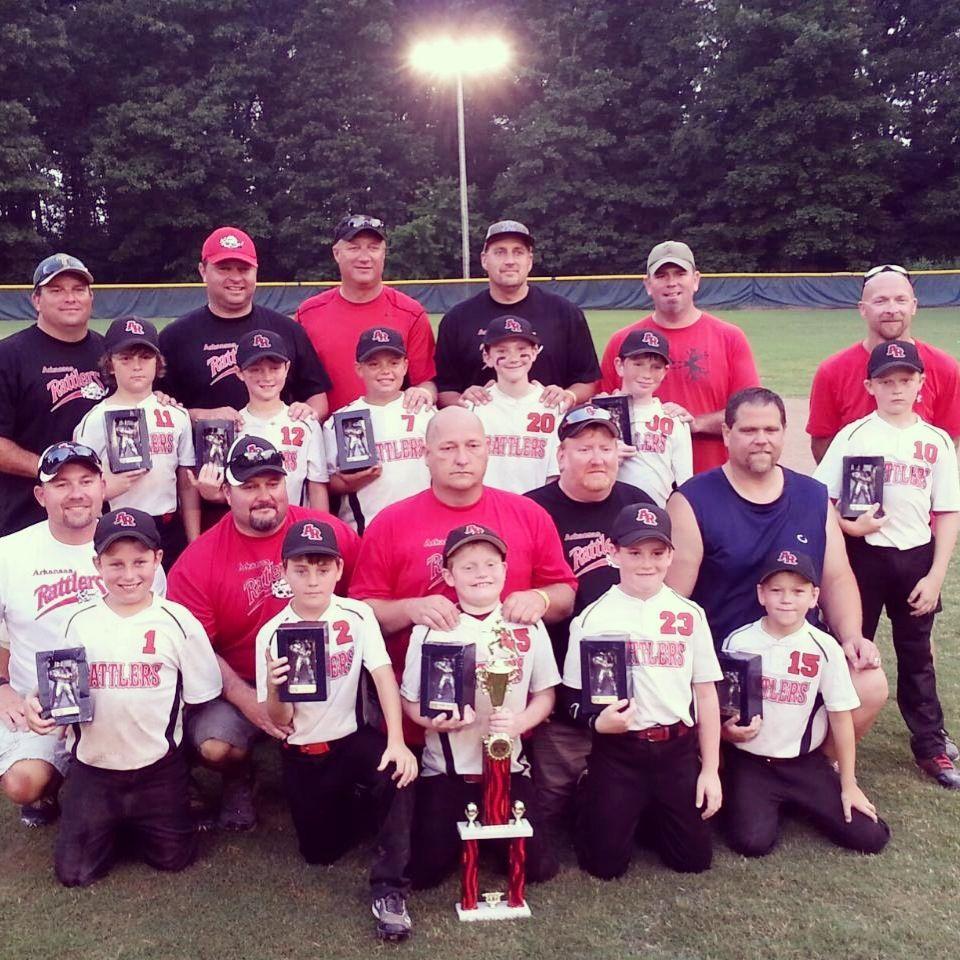 USSSA Baseball, Father's Day 2013, AR Rattlers 10U. 1st place Lonoke, AR
