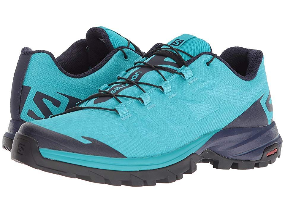Salomon Outpath Shoes Women Blue BirdEvening BlueBlack