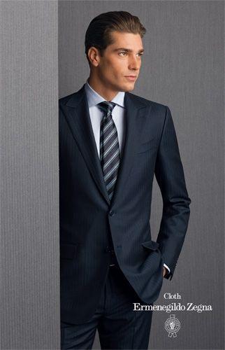 e77466c6d80e Men Wearing a Zegna Suit | suit | Pinterest | Suits, Mens suits and ...