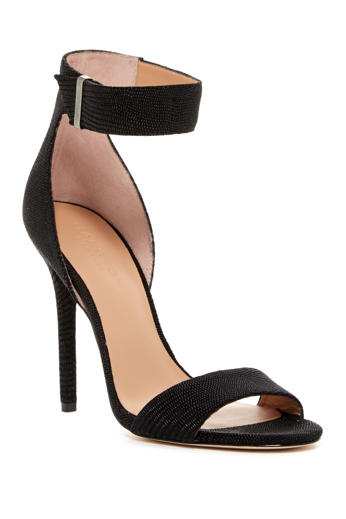 Marley Textured Heeled Sandal