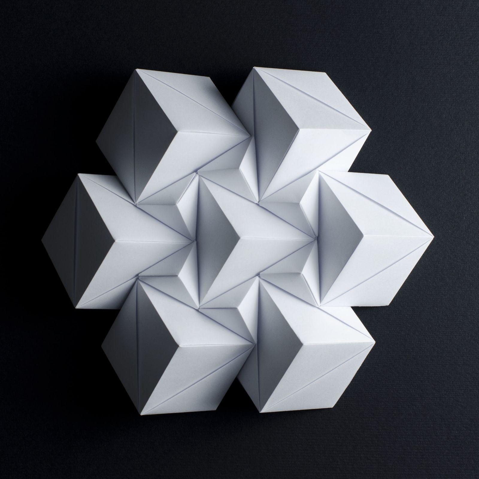 Rigid Origami - Grasshopper | 1600x1600