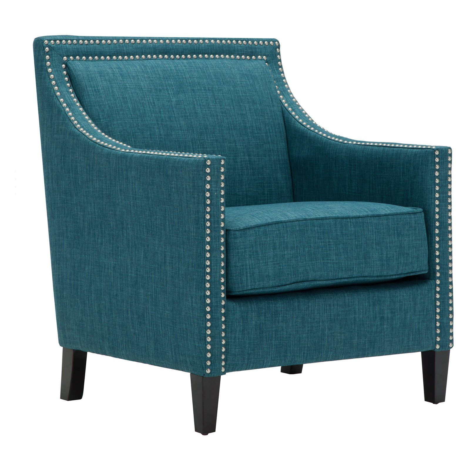 Best Comfort Pointe Taslo Accent Chair Teal Accent Chairs 400 x 300