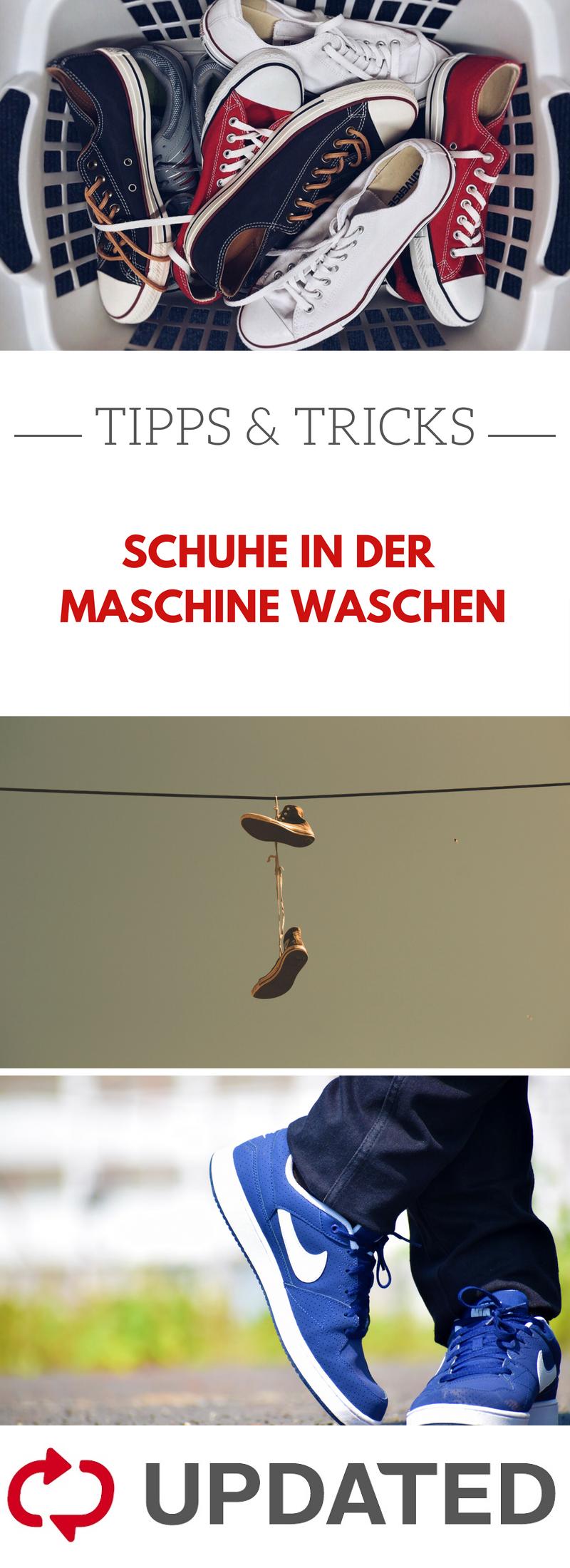 Schuhe in die Waschmaschine: Alles zu Grad, Pflege und Co
