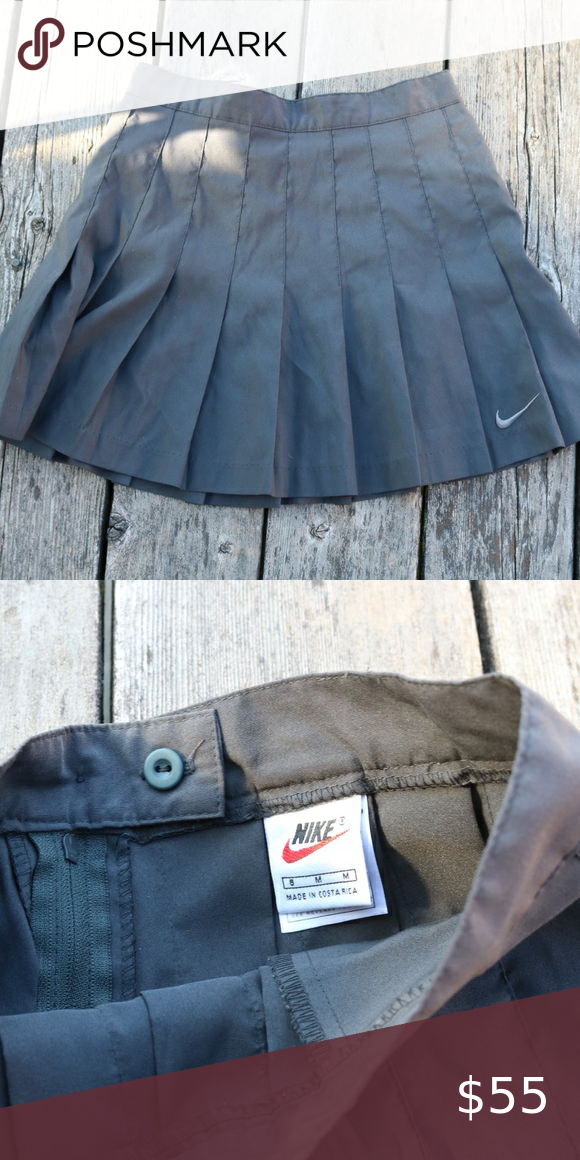 Vintage Nike Tennis Skirt In 2020 Tennis Skirt Vintage Nike Nike Tennis